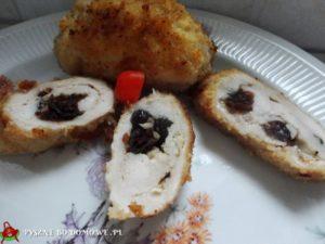 Roladki z serem i żurawiną